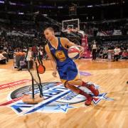 Stephen Curry ganó el concurso de habilidades (Foto: Getty)