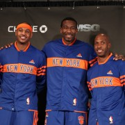 El Big Three de los Knicks: Anthony, Billups y Stoudemire (Foto: Getty)