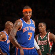 Carmelo Anthony sonríe (Foto: Getty)