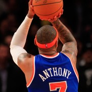 Carmelo Anthony eligió el dorsal 7 (Foto: Getty)