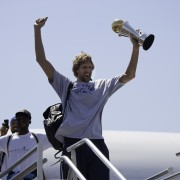 Mavericks Return To Dallas As NBA Champions